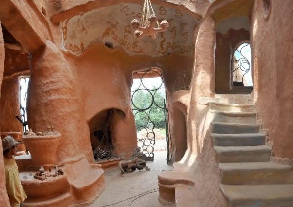 Купольные дома из глины своими руками