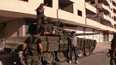 Сирийская армия двинулась наповстанческий город