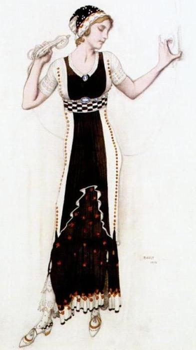 Фантазия на тему современного костюма (Аталанта), 1912 (392x700, 176Kb)