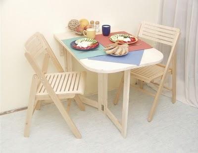 Складной столик для маленькой кухни. Своими руками (1) (400x309, 76Kb)