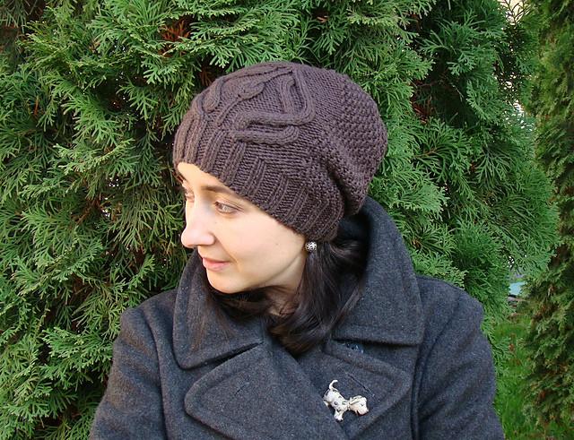 """针织帽子:""""中心图案"""" - maomao - 我随心动"""