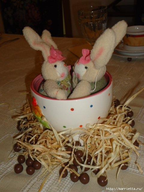 Кролик в чашке. Идеи пасхальных композиций (2) (480x640, 159Kb)