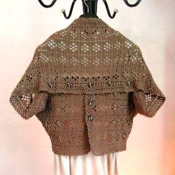 Кофта трансформер вязание. .  - Каталог блуз, кофт и шорт 2015 года.