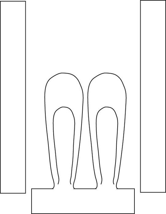 Как сделать уши зайца из картона своими