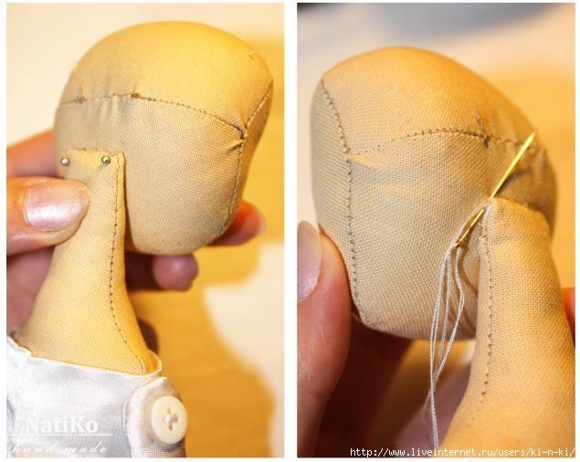 Ткань как сделать волосы