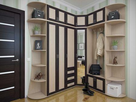 Шкаф  много мебели