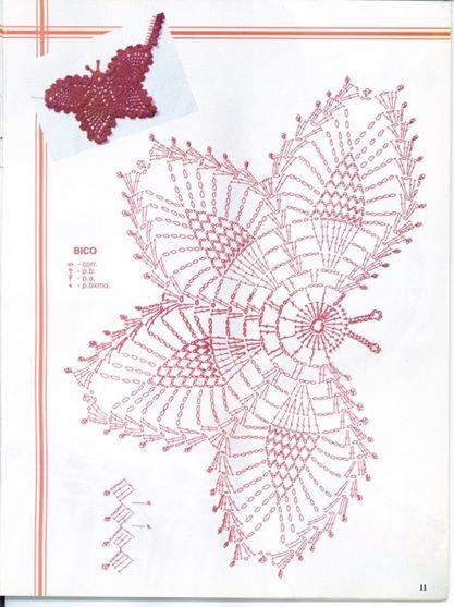 бабочка схема (417x557, 38Kb)