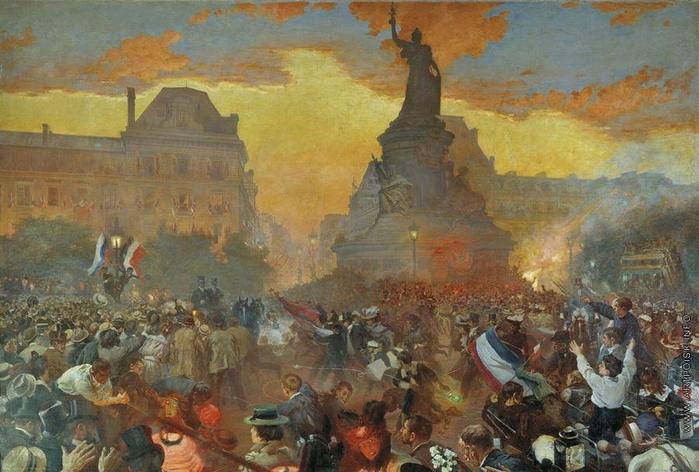 Карнавал в Париже в честь прибытия русских моряков 5 октября 1893 года, 1900 (700x472, 267Kb)