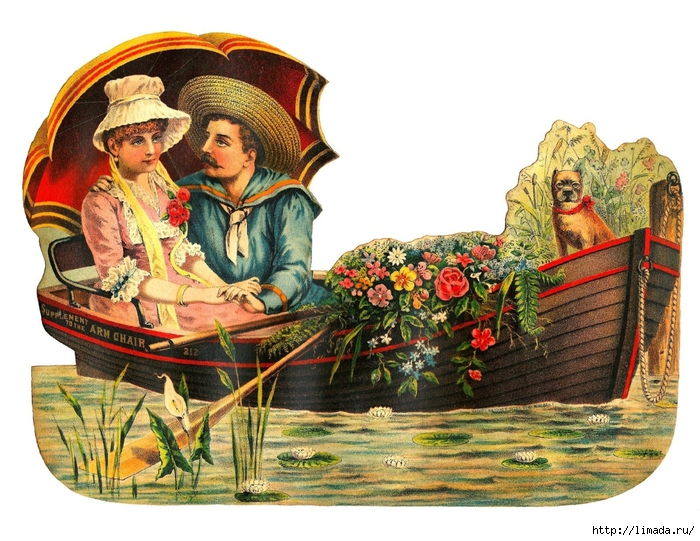 couple_boat_dog_flowers_2 (700x541, 324Kb)