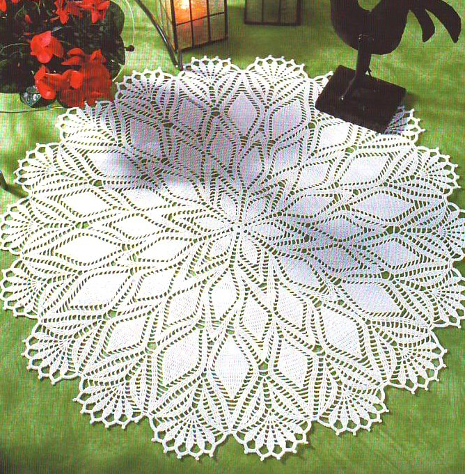 Materiales Gr Ficos Gaby Patrones De Carpetas En Crochet - Manteles ...