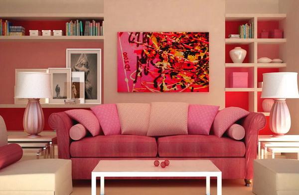 розовый цвет и интерьер 9 (600x391, 212Kb)