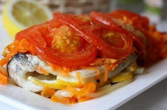 Рецепт баклажанов с овощами в мультиварке