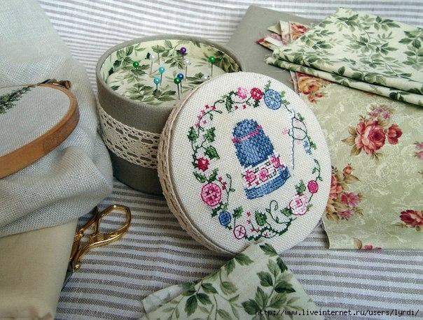игольницы (схемы для вышивки