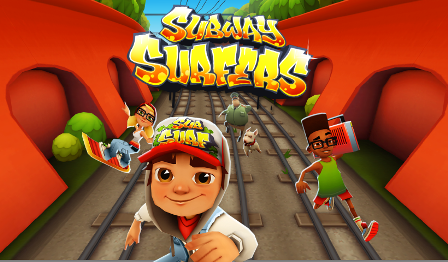 Игра subway surfers рулит!