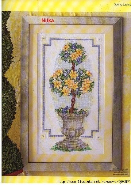 Цветочное дерево (схема