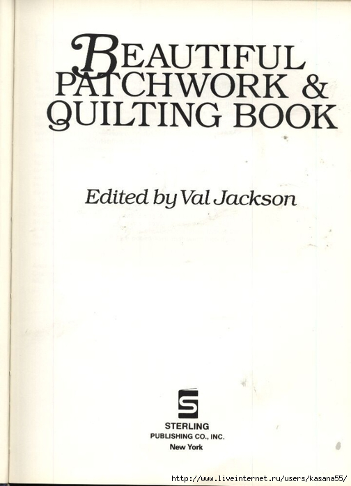 Beautiful Patchwork & Quilting Book 002 (504x700, 129Kb)