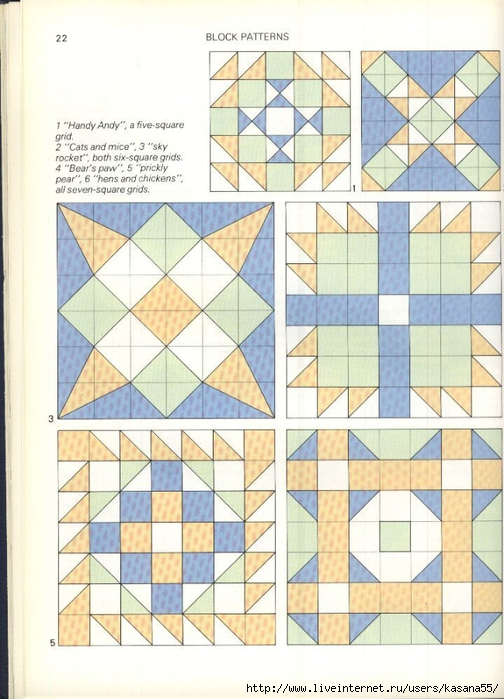 Beautiful Patchwork & Quilting Book 022 (504x700, 271Kb)