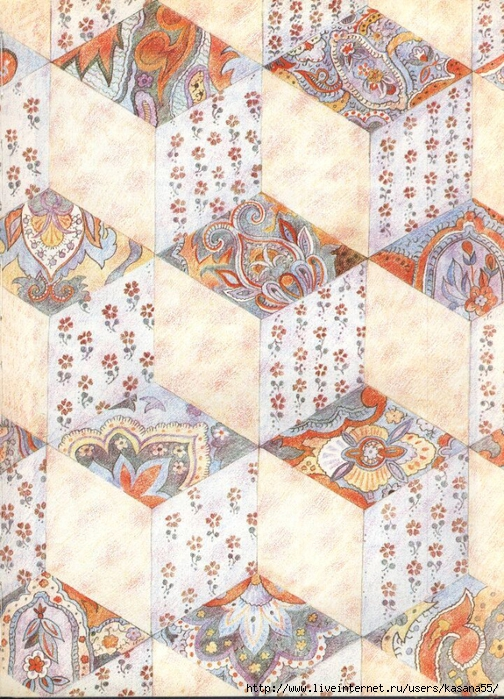 Beautiful Patchwork & Quilting Book 073 (504x700, 392Kb)