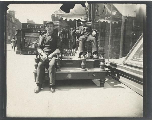 Жители Нью Йорка в 1896 году в фотографиях Алис Остин