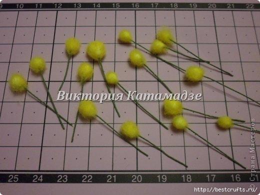 Мимоза из шерсти и шелка МК (26) (520x390, 101Kb)