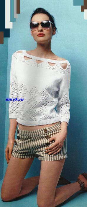 пуловер-с-ажурной-вставкой-фото (295x700, 30Kb)