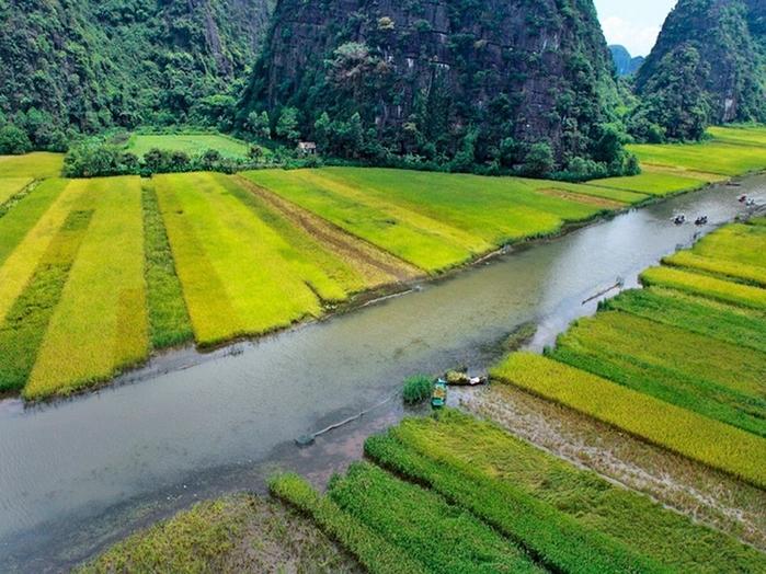 Красота гор и рисовых полей Там Кок4 (700x524, 335Kb)