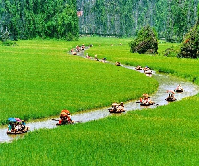 Красота гор и рисовых полей Там Кок6 (700x582, 409Kb)