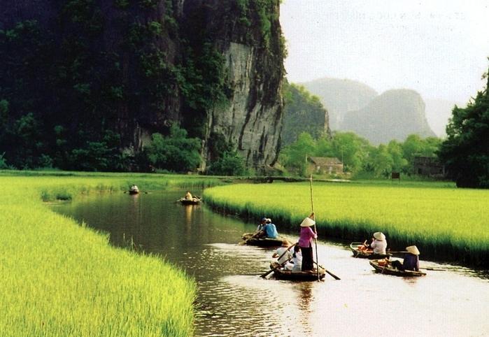 Красота гор и рисовых полей Там Кок14 (700x482, 267Kb)