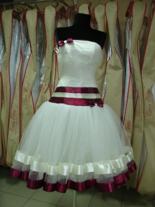 Как сшить платье из атласной ленты 444