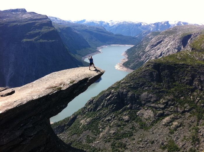 18. Норвегия.  Язык Тролля (700x523, 368Kb)