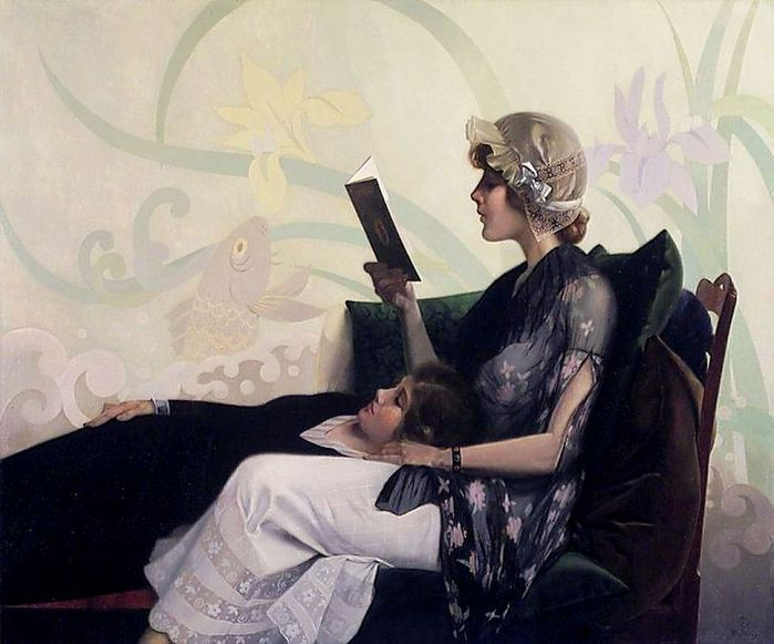 harry-wilson-watrous-just-a-couple-of-girls-1915 (700x581, 57Kb)