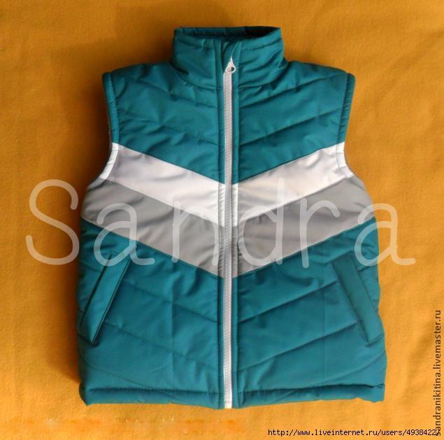 Как сшить стеганую куртку мастер класс