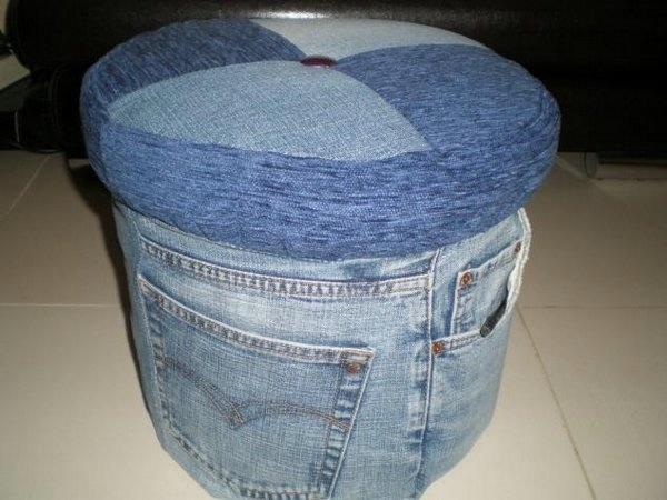 Разные идеи из старых джинсов