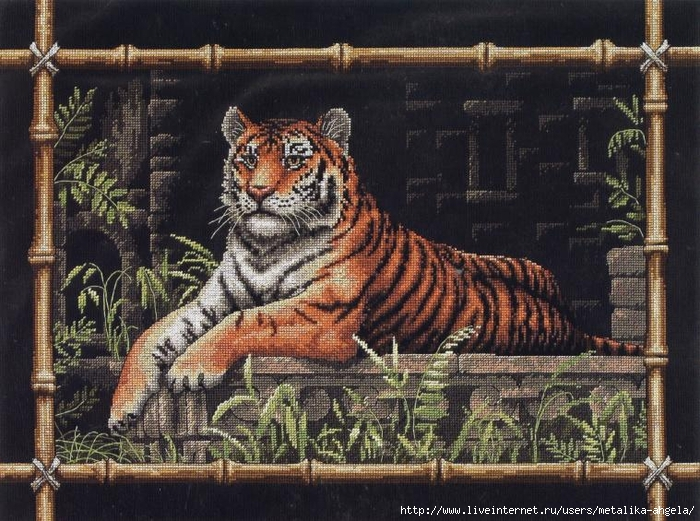 Dimensions_35158_Bamboo_Tiger (700x521, 351Kb)