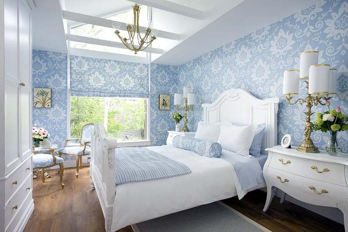 Как превратить кровать в главный элемент спальни (6) (700x467, 311Kb)