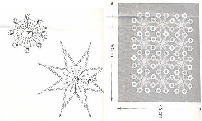 Украшение подушек кружевом крючком. Идеи и схемы (7) (700x419, 294Kb)