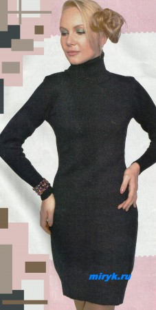 Вязанное-черное-платье-фото-227x450 (227x450, 25Kb)