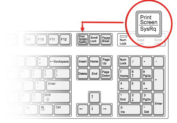 Как сделать скрин на компе если не работает кнопка print screen