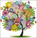 Превью Летнее дерево (620x632, 554Kb)