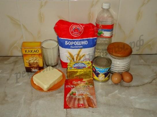 глазурь из какао для торта фото рецепт