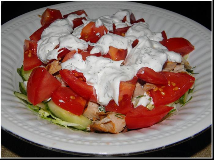 афинский салат рецепт