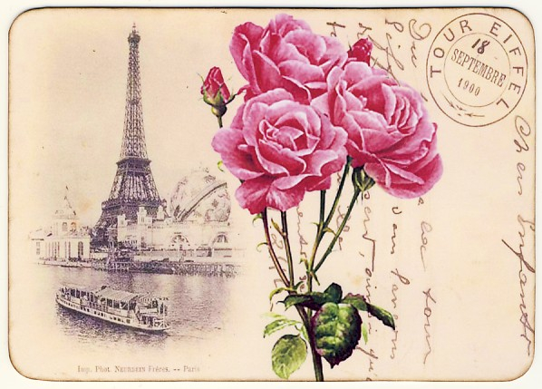 French Postcard V (598x429, 252Kb)
