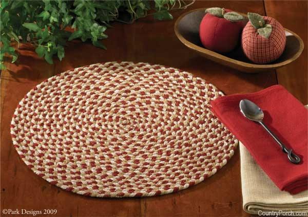 Подложка под тарелки на стол