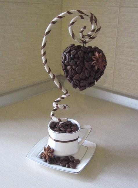 Из кофе своими руками мастер класс фото