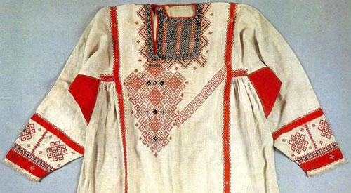 Вышивка на славянских рубашках