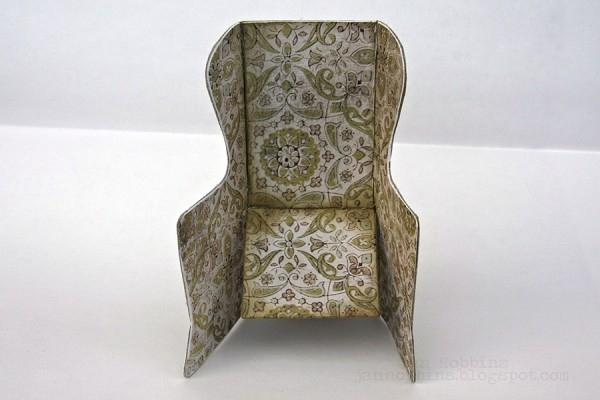 Скрапбукинг. Кресло-качалка из бумаги (2) (600x400, 142Kb)
