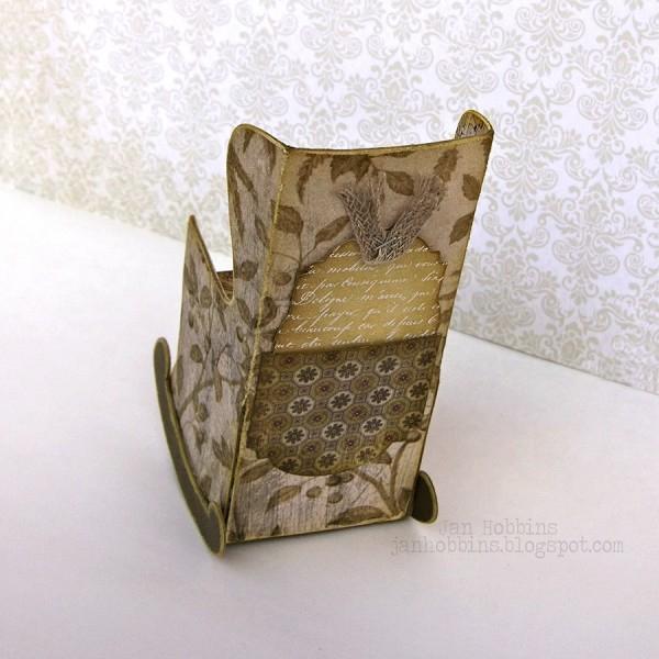 Скрапбукинг. Кресло-качалка из бумаги (6) (600x600, 250Kb)