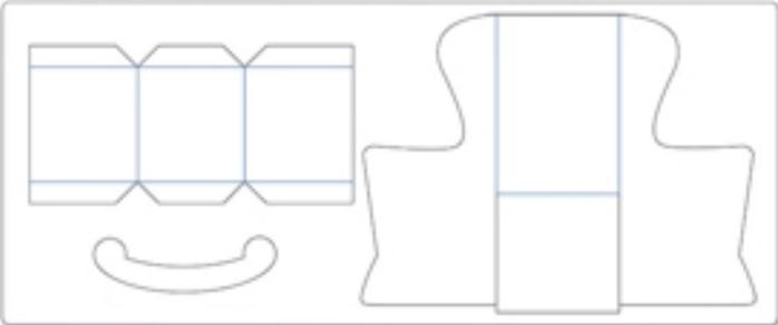 Скрапбукинг. Кресло-качалка из бумаги (10) (700x292, 32Kb)