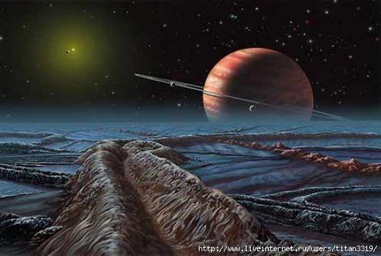 Сатурн со спутника 3 (550x370, 101Kb)