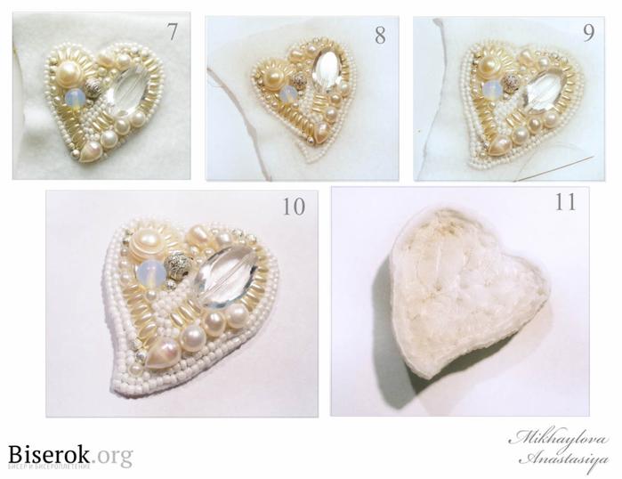 Брошь-сердечко расшитое бисером (3) (700x538, 246Kb)